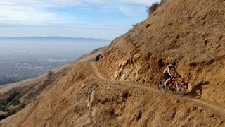 Sierra to Alum Rock downhill 2-3 loops - beginner 4.0m, climb 80ft, descent 1800ft.